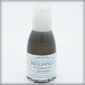 Pearlescent Chocolate Brilliance Dew Drop Ink