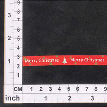 Load image into Gallery viewer, RB001 Merry Christmas Ribbon