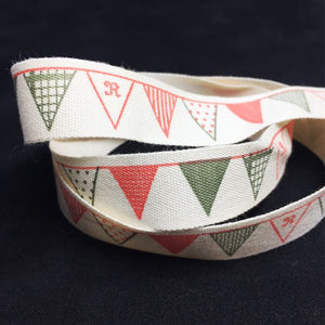RB003 Christmas Bunting Ribbon