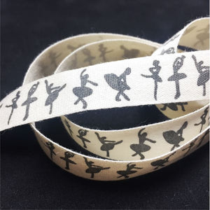 RB007 Ballerinas Ribbon