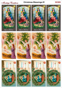 SC005 Christmas Blessings #1
