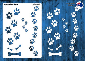 ST9045 Dog Paws