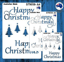 Load image into Gallery viewer, ST9058 Christmas Words