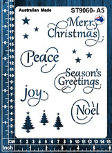 Load image into Gallery viewer, ST9060 Christmas Words