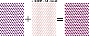 STL2001 - A4 - Small - Blocks Stencil