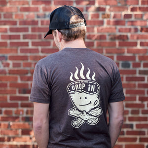 STOKES Campfire short sleeve - brown