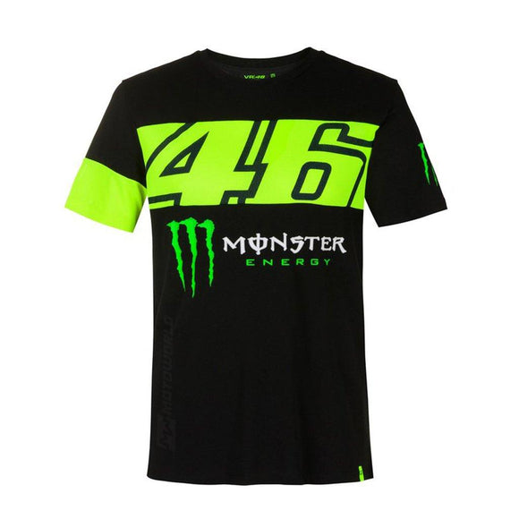 VR46 DUAL 46 MONSTER ENERGY T-SHIRT