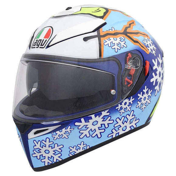 AGV K3 SV ROSSI WINTER TEST 2016