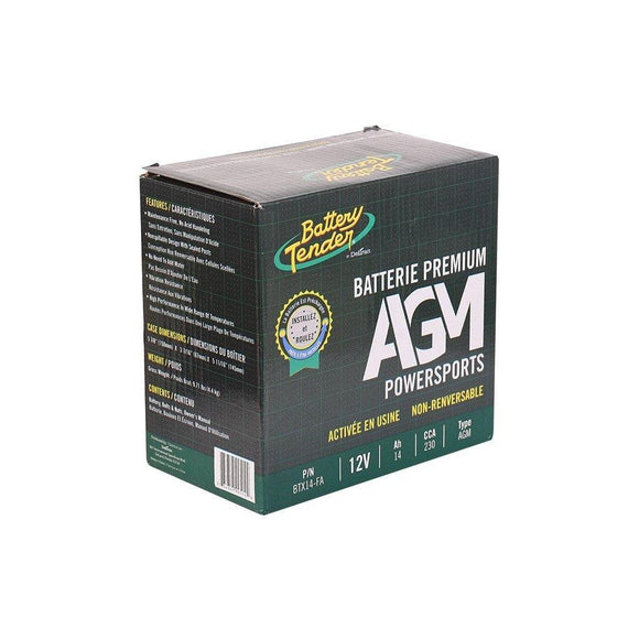 Battery Tender Agm 12V 14Ah 230Cca