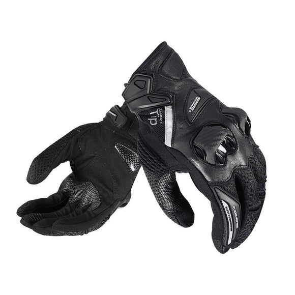 KOMINE GK-234 PROTECT LEATHER MESH GLOVES