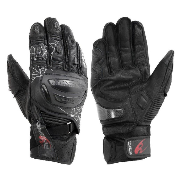 KOMINE GK-236 TITANIUM SPORTS GLOVE SHORT