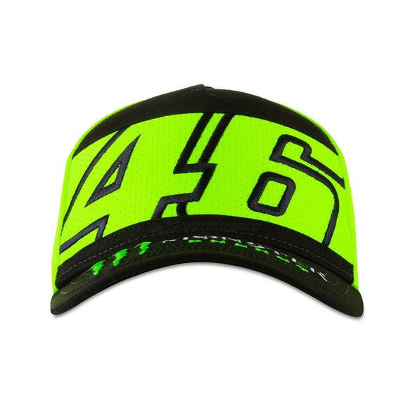 VR46 DUAL 46 MONSTER ENERGY CAP