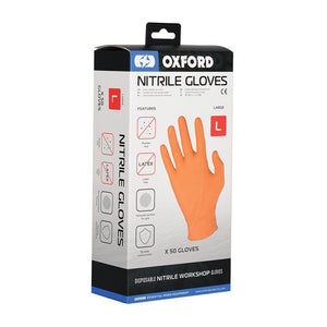 OXFORD NITRILE GLOVES (100PCS)