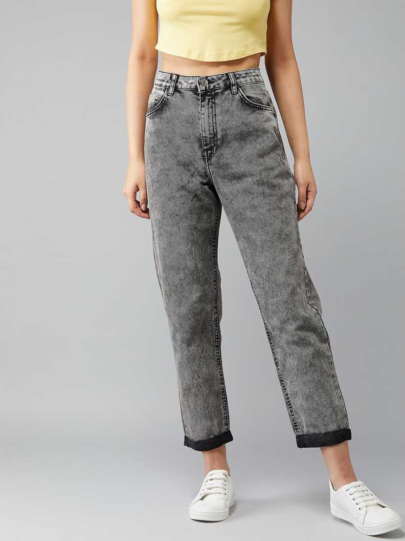 Slim Women Grey Jeans