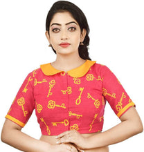 Load image into Gallery viewer, Band collar Women Blouse