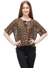 Load image into Gallery viewer, Animal Print Top