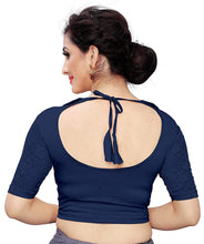 Load image into Gallery viewer, women's cotton lycra stretchable readymade blouse
