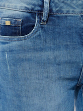Load image into Gallery viewer, Blue Rugged Jeans