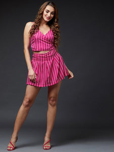 Pink Striper Co-ordinate Set