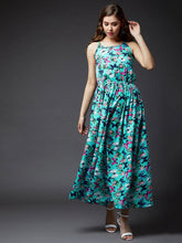 Load image into Gallery viewer, Butterfly Print Maxi Dress