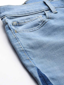 Super Skinny Women Blue Jeans