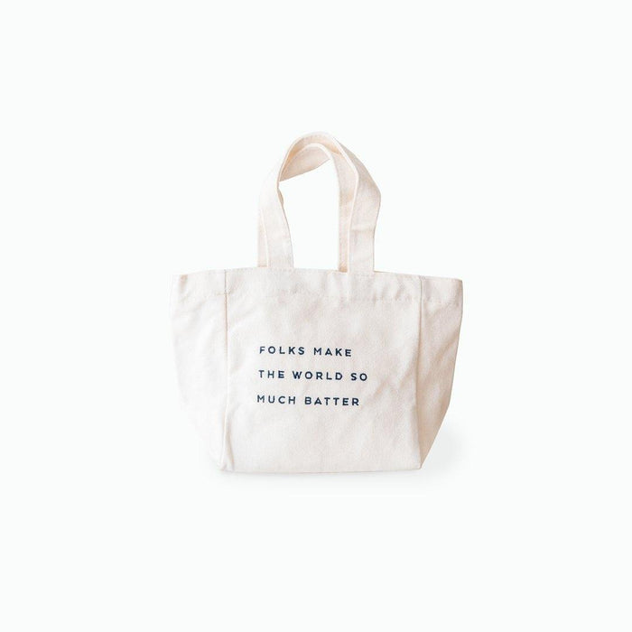 Canvas Tote Bag (with embroidered details)