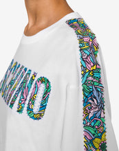 Load image into Gallery viewer, Retrò Flowers Logo Jersey T-Shirt