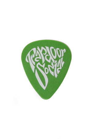 Guitar Pick Green