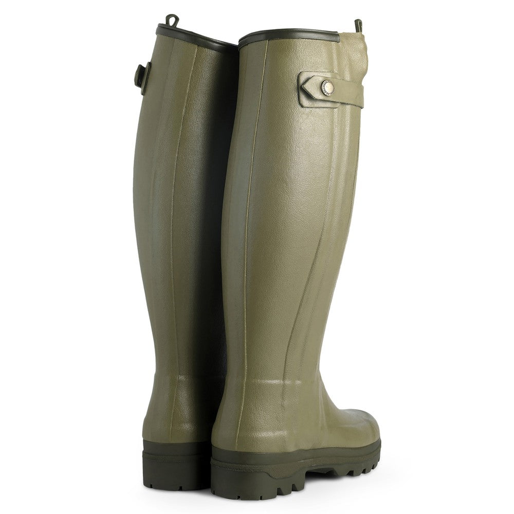 Le Chameau Women's Chasseurnord Zipped Neoprene Wellington Boots