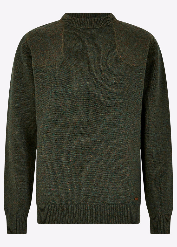 Dubarry Men's Nolan Knitted Sweater Olive | Country Ways
