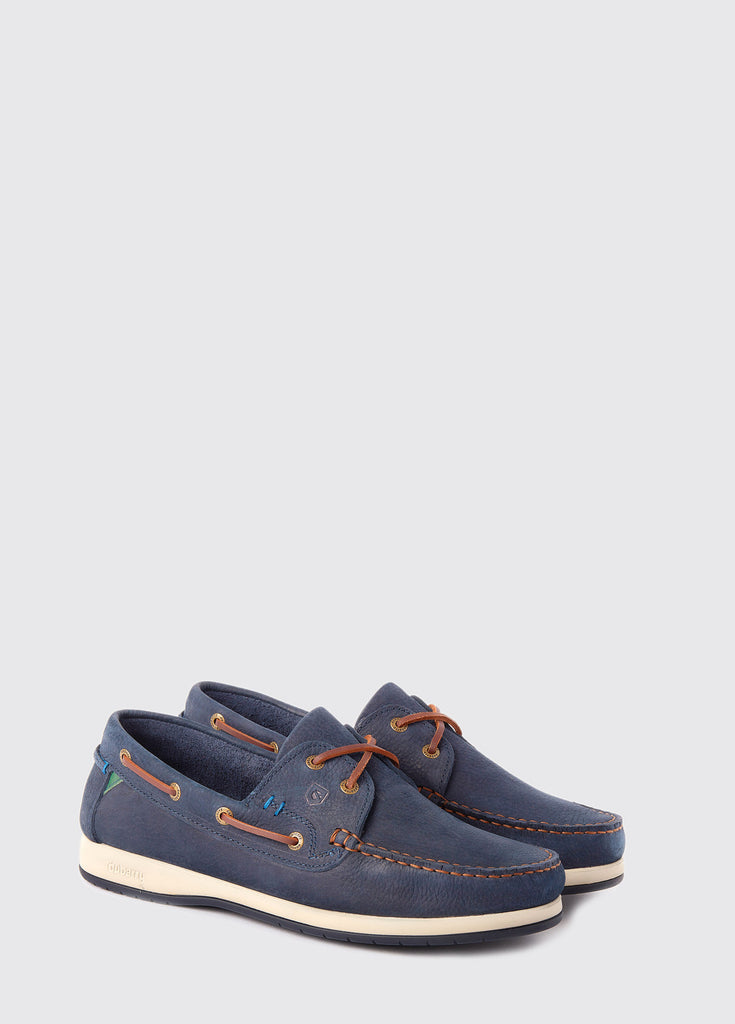 Dubarry Mens Armada X LT Deck Shoes Navy | Country Ways