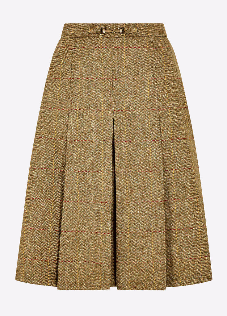 Dubarry Womens Spruce Tweed Skirt Elm | Country Ways