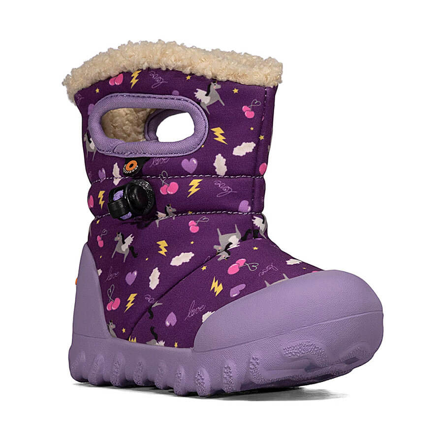 Bogs Kids B-Moc Pegasus Purple Multi | Country Ways