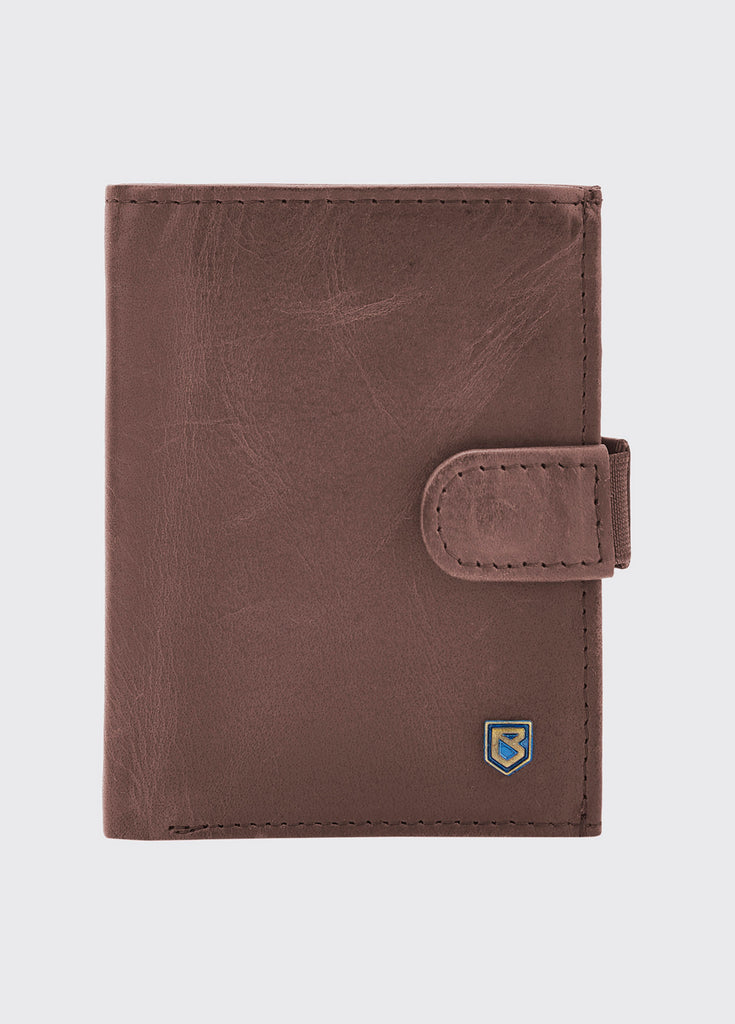 Dubarry Thurles Card Wallet Old Rum | Country Ways
