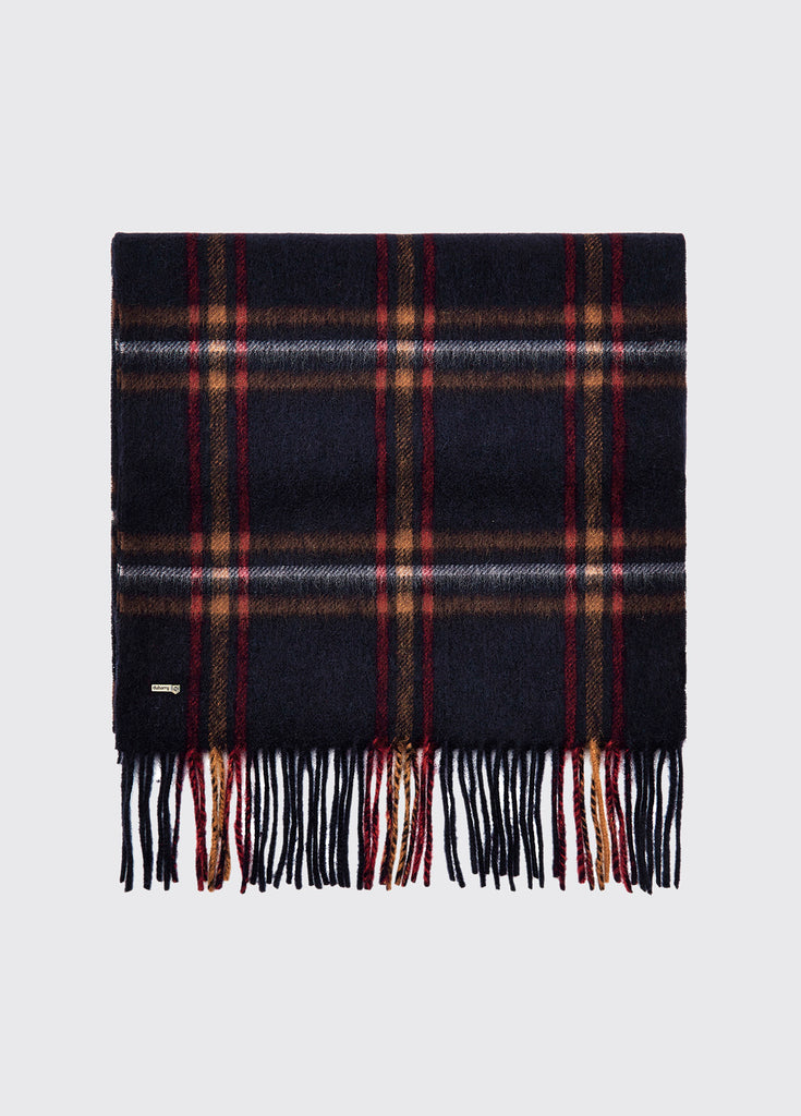 Dubarry Cullen Wool Scarf Navy | Country Ways
