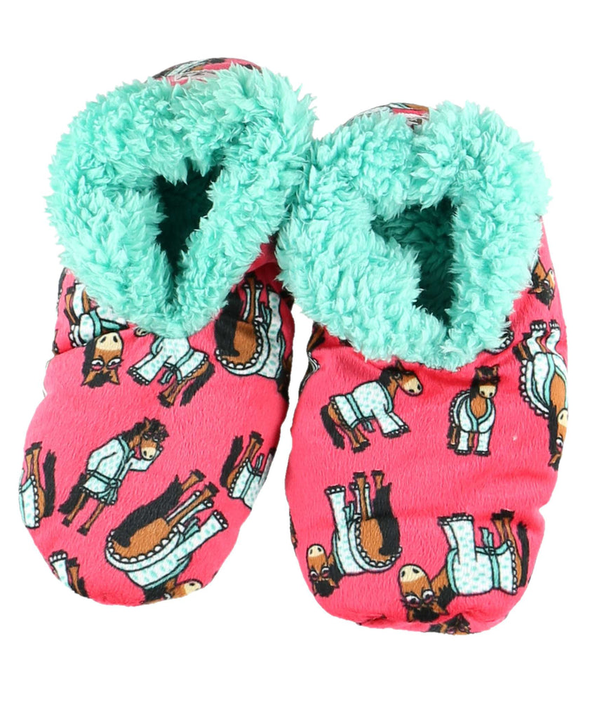 Lazyone Don'T Do Mornings Fuxxy Slippers | Country Ways