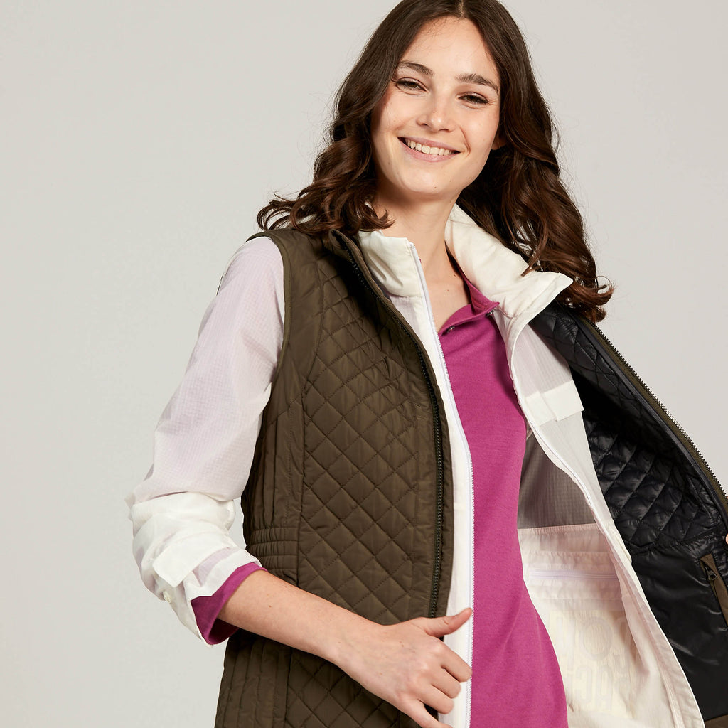Aigle Mujal Vest Water Repellent Quilted Jacket