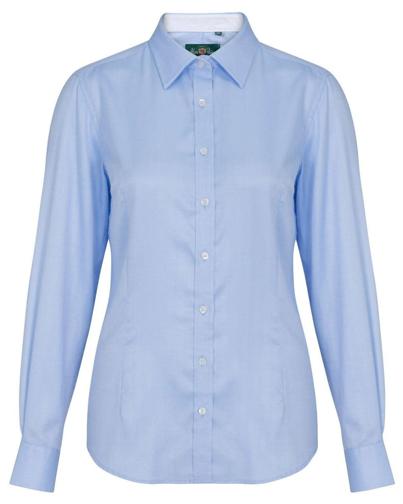 Alan Paine Bromford Ladies Shirt Baby Blue | Country Ways