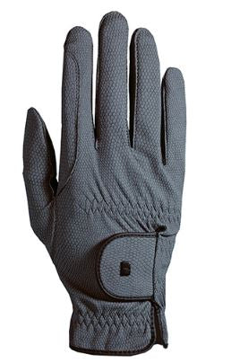 Roeckl Roeck-Grip Riding Gloves Anthracite | Country Ways