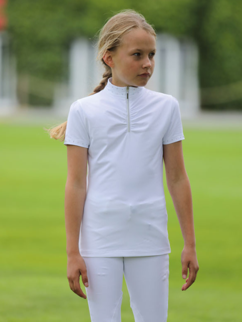 Shires Aubrion Imperial Show Shirt Maids White | Country Ways