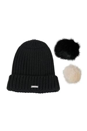 Harcour Serge Women's Beanie Black | Country Ways
