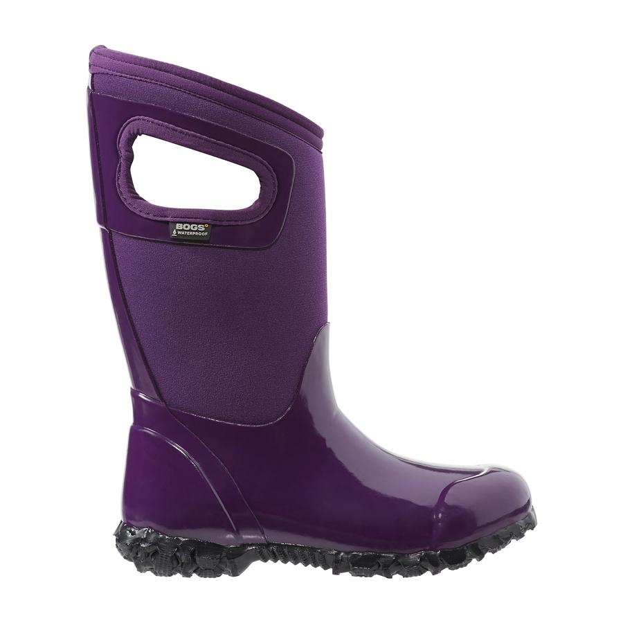 Bogs K North Hampton Boots Eggplant | Country Ways