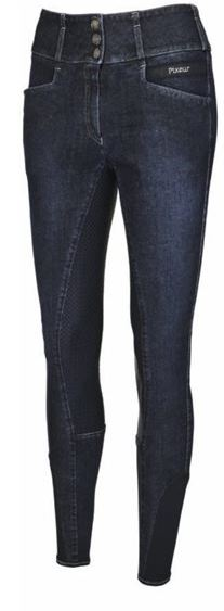 Pikeur Candela Grip Breeches Navy Blue Jeans | Country Ways