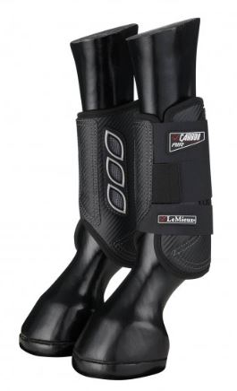 LeMeiux Carbon Air XC Boots Front Black | Country Ways