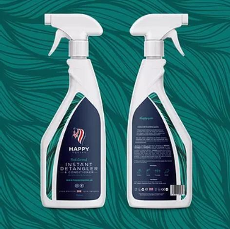 Happy Equine Instant Detangler & Conditioner 750ml