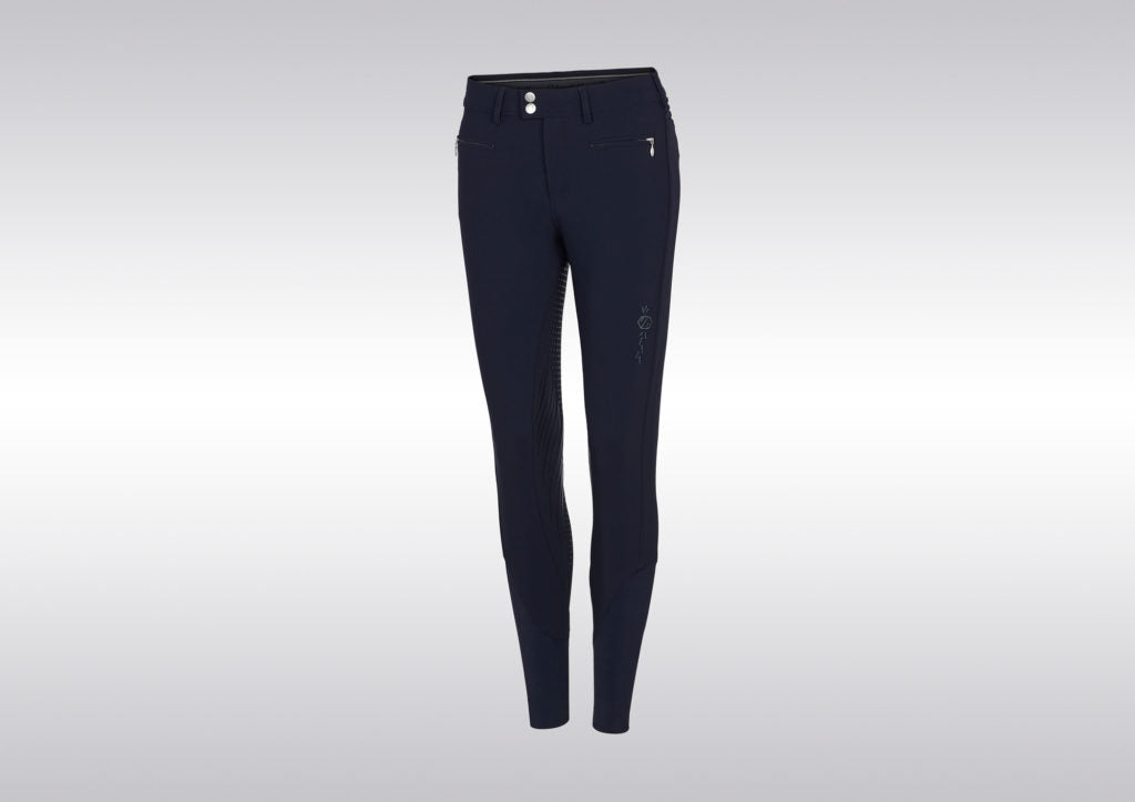 Samshield Womens Diane Full Grip Breeches Navy | Country Ways