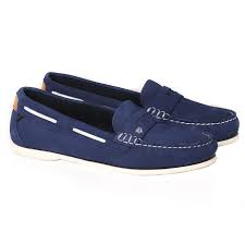 Dubarry Belize Deck Shoe Royal Blue | Country Ways