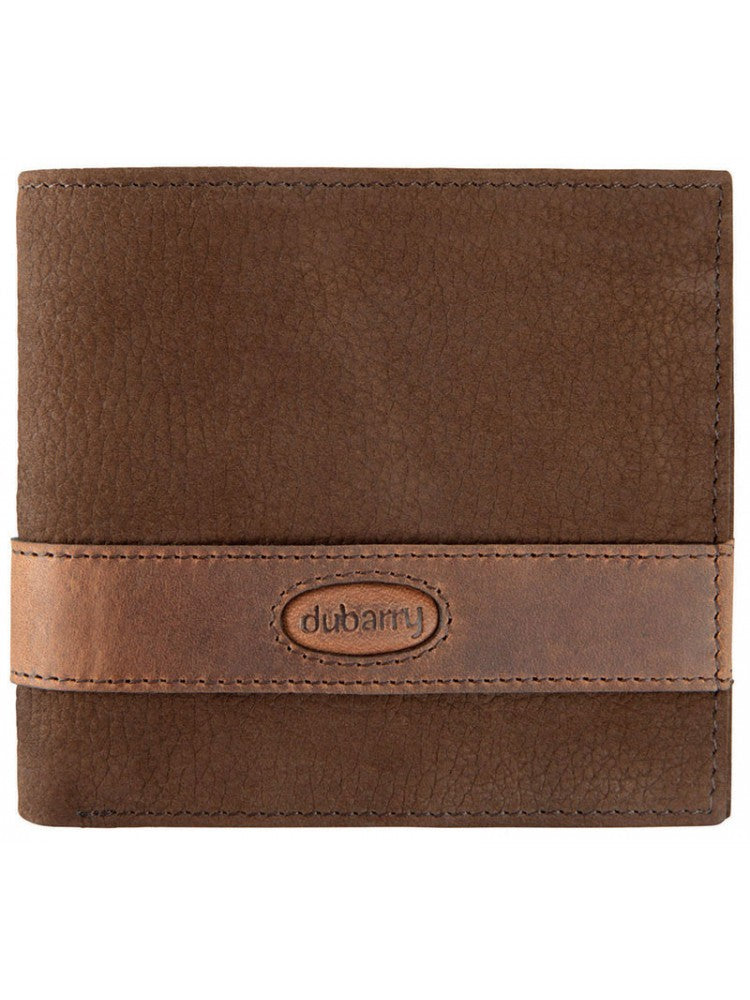Dubarry Men's Grafton Leather Wallet Chestnut | Country Ways