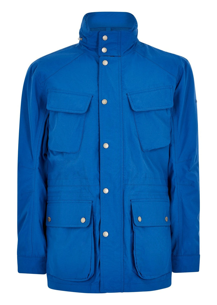 Dubarry Mens Thornton Waterproof Jacket Royal Blue | Country Ways
