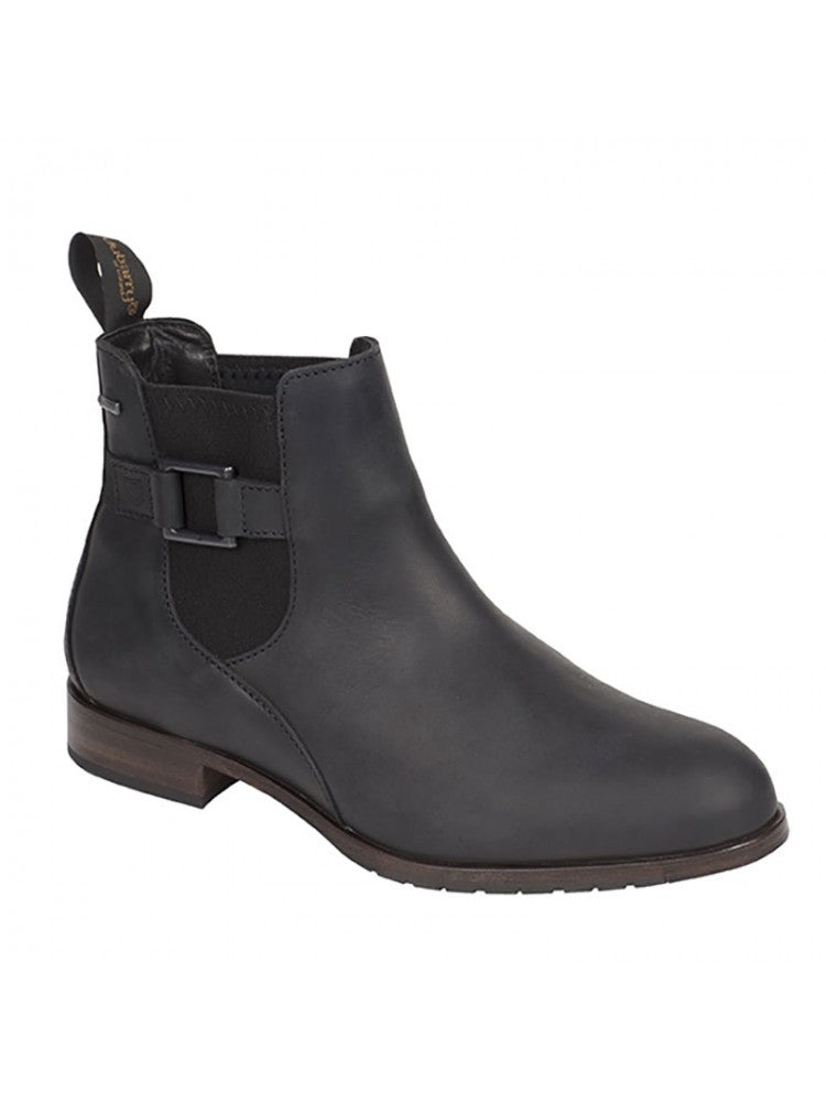 Dubarry Monaghan Boots Black | Country Ways